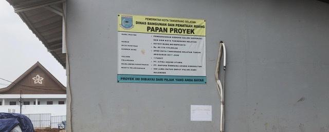 Gedung 85,7 Miliar di Tangsel Jadi 'Sampah', PPK Diminta Tarik Jaminan Pelaksanaan