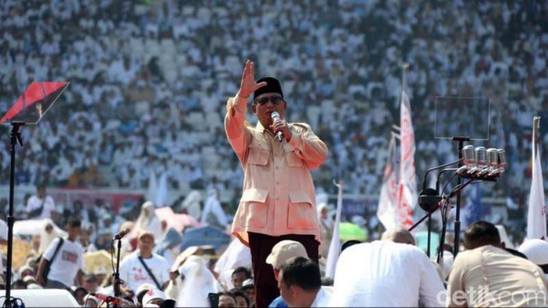 Menang Pilpres, Prabowo Akan Buru Para Koruptor