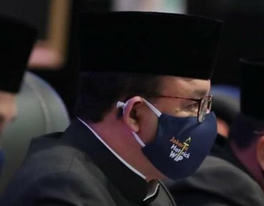 Anies Pun Berganti Masker Hattrick WTP