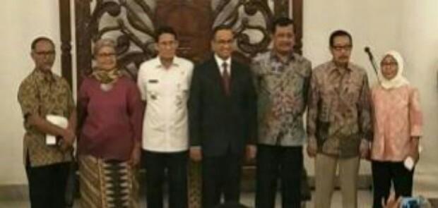 Berantas Korupsi, Anis-Sandi Lantik Komite PK Jakarta