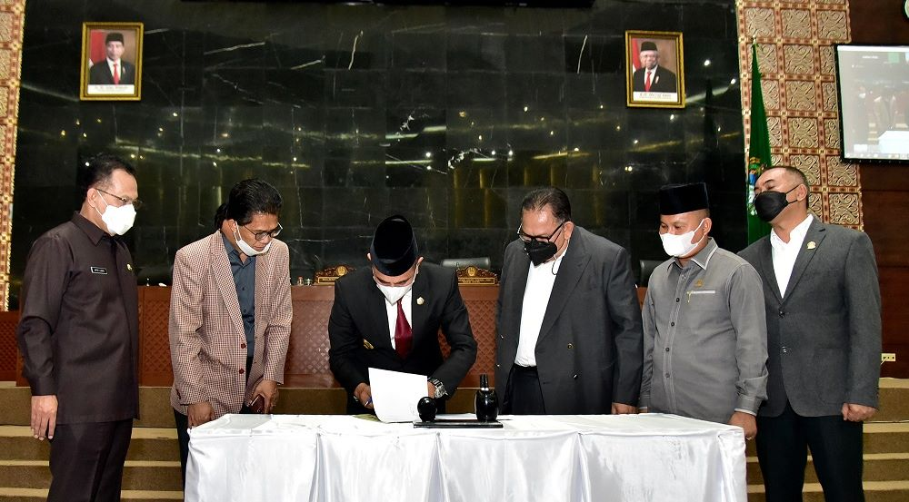 DPRD Sumut Setujui Ranperda Perseroda PPSU, Gubernur Edy Rahmayadi Minta BUMD Cegah Monopoli Pasar