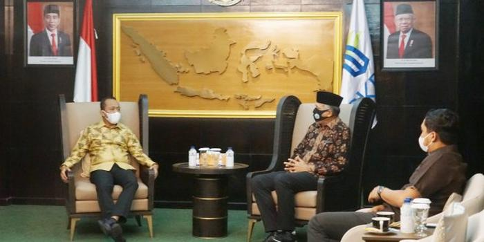 Gubernur Aceh Sampaikan Perkembangan Investasi kepada Kepala BKPM
