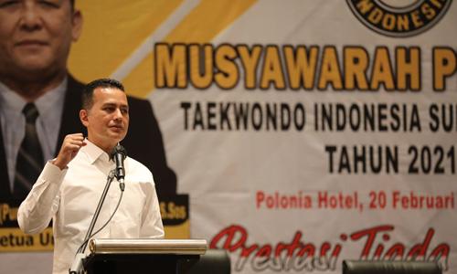 Musa Rajekshah Kembali Terpilih Pimpin Pengprov TI Sumut Hingga 2025