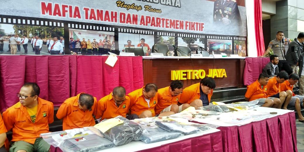 Polda Metro tangkap Mafia Tanah dan Properti
