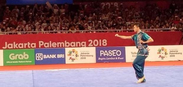 Cabang Wushu Persembahkan Medali Pertama Bagi Indonesia