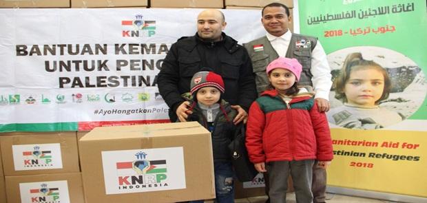 KNRP Kirim Tim Kemanusiaan ke Pengungsi Palestina, Bantuan Musim Dingin Senilai Rp 6 M Disalurkan