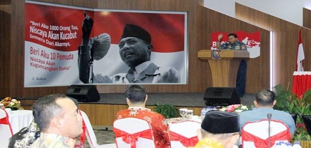 Kasum TNI : Jiwa Patriotisme Wujudkan Kepemimpinan Nasional Yang Kuat