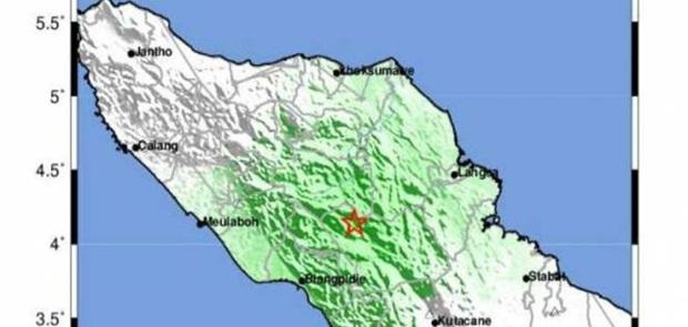 Gempa di Aceh Barat Rusakkan Rumah dan Fasilitas Publik